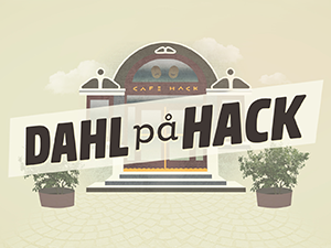 Dahl på Hack podcast logo